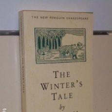 Libros de segunda mano: THE WINTER´S TALE BY WILLIAM SHAKESPEARE - (EN INGLES) OCASION. Lote 153063334