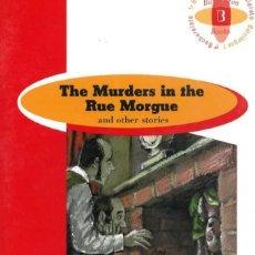 Libros de segunda mano: THE MURDERS IN THE RUE MORGUE. Lote 153268989