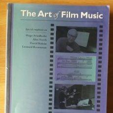 Libros de segunda mano: THE ART OF FILM MUSIC. GEORGE BURT. Lote 153429332