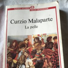 Libros de segunda mano: LIBRO EN ITALIANO LA PELLE. Lote 153884558