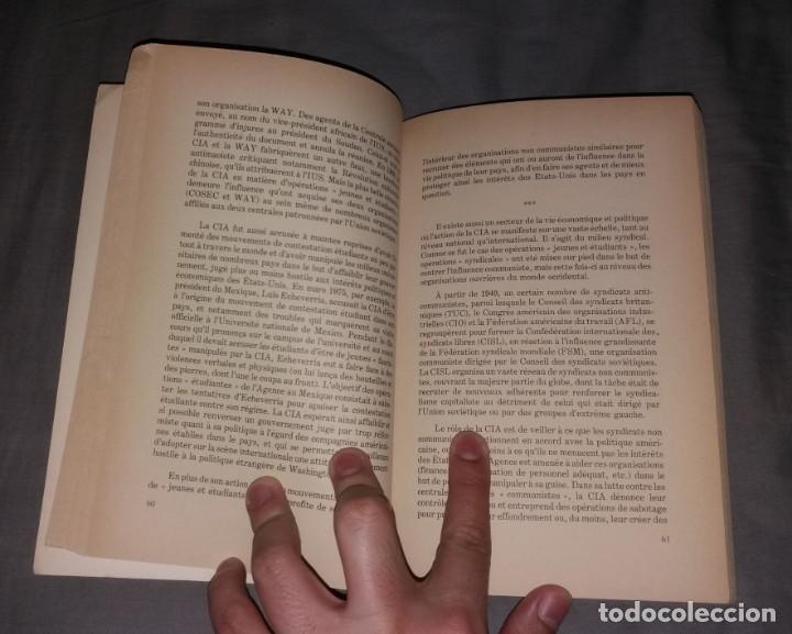 Libros de segunda mano: Libro. CIA, les services secrets américains. Stanké, Denis Rancourt, 1978 - Foto 2 - 154817926