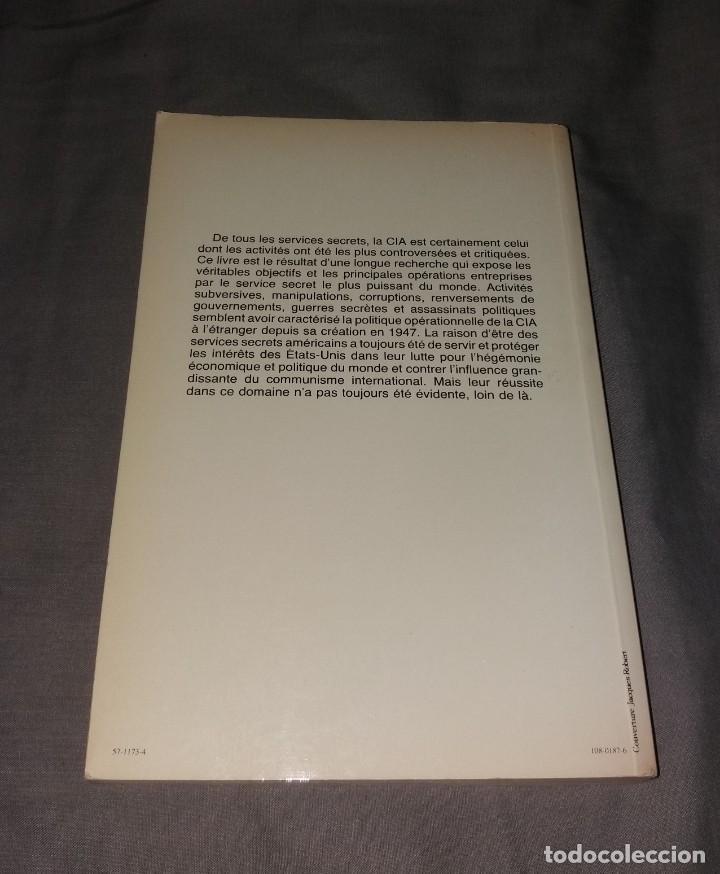 Libros de segunda mano: Libro. CIA, les services secrets américains. Stanké, Denis Rancourt, 1978 - Foto 3 - 154817926