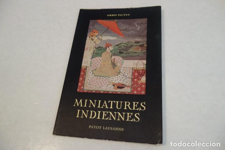 MINIATURES INDIENNES. PAYOT LAUSANNE. (Libros de Segunda Mano - Otros Idiomas)