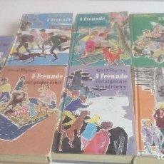 Libros de segunda mano: G-LANA9 LOTE DE 7 LIBROS EN ALEMAN LOS CINCO DE ENID BLYTON VER FOTOS. Lote 155345102
