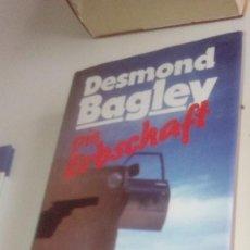 Libros de segunda mano: G-LANA9 LIBRO EN ALEMAN DESMOND BAGLEY DIE ERBSCHAFT . Lote 155345278