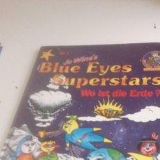 Libros de segunda mano: G-LANA9 LIBRO EN ALEMAN JO WINES BLUE EYES SUPERSTARS WO IST DIE ERDE . Lote 155345990