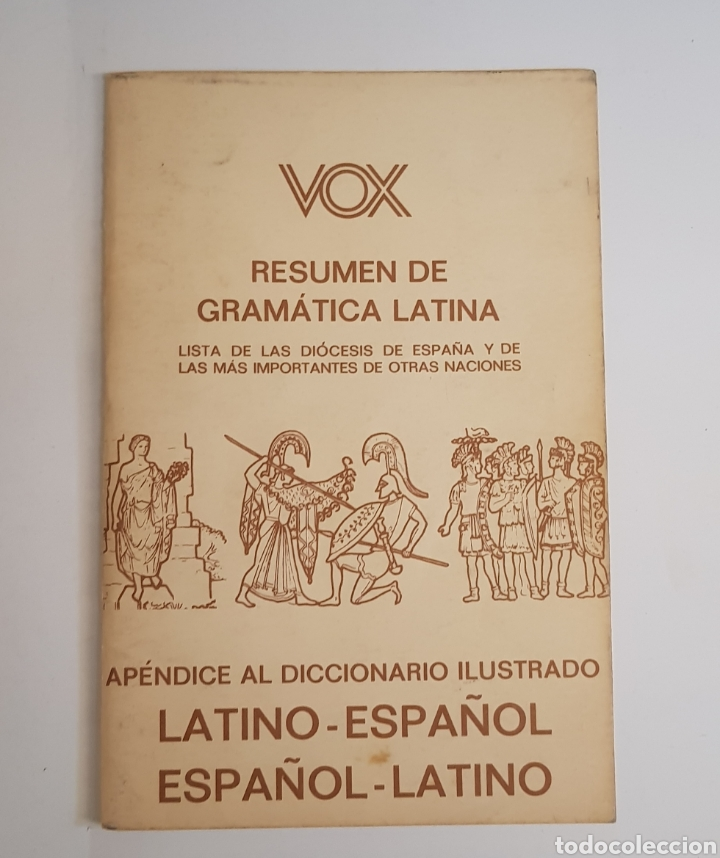 VOX - RESUMEN GRAMATICA LATINA - TDK2 (Libros de Segunda Mano - Otros Idiomas)
