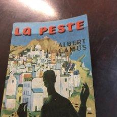 Libros de segunda mano: LA PESTE ALBERT CAMUS. Lote 155691302