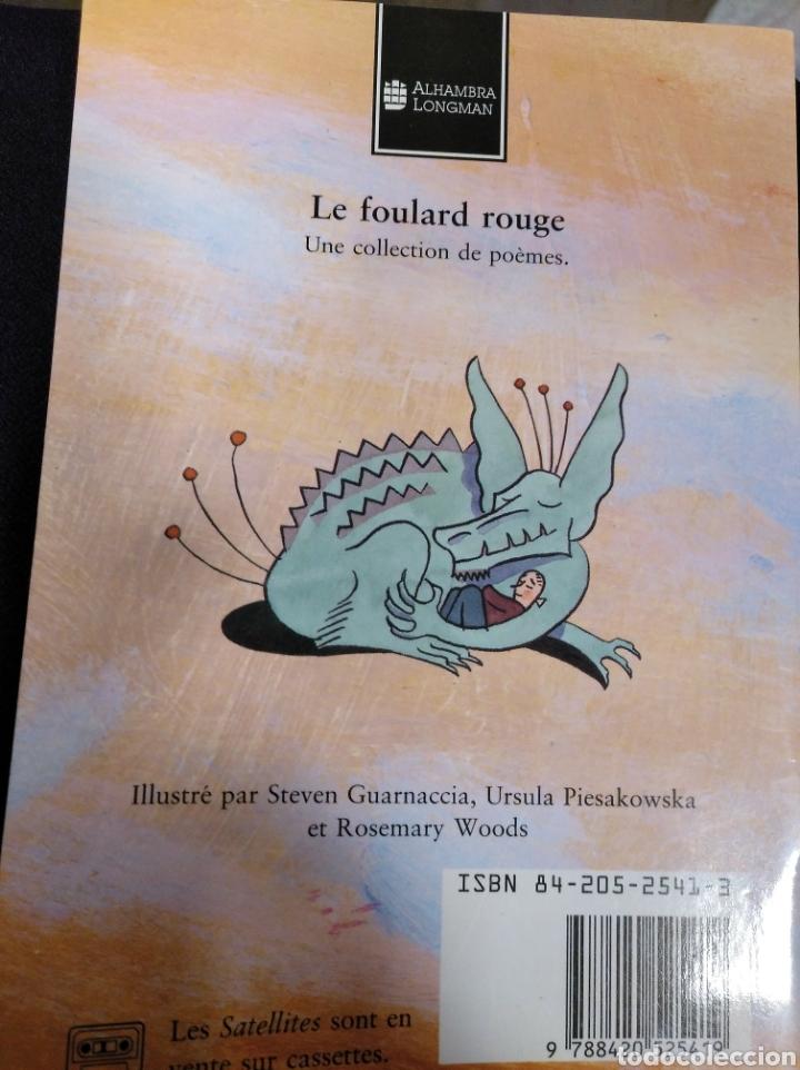 Libros de segunda mano: Le Foulard Rouge. Poèmes choisis par Jave Cottane - Foto 2 - 155863500