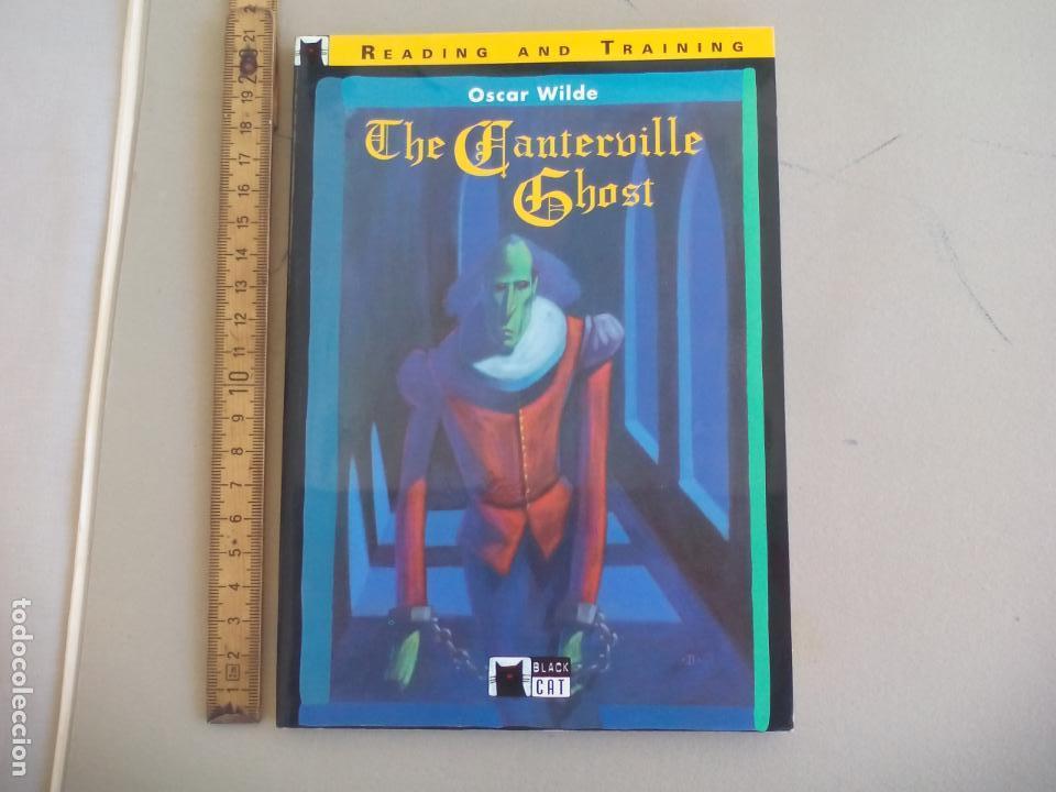 THE CANTERVILLE GHOST. OSCAR WILDE. READING AND TRAINING. BLACK CAT. 2001, (Libros de Segunda Mano - Otros Idiomas)