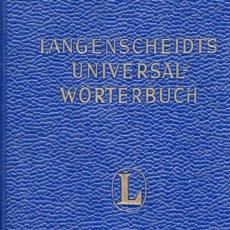 Libros de segunda mano: LANGENSCHEIDTS UNIVERSAL WÖRTERBUCH RUSSISCH-DEUTSCH / DEUTSCH-RUSSISCH. Lote 156694898