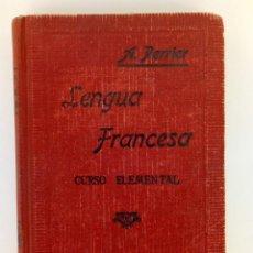 Libros de segunda mano: LENGUA FRANCESA - CURSO ELEMENTAL - A. PERRIER. Lote 156760346