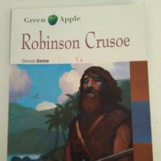 Libros de segunda mano: ROBINSON CRUSOE/BLACK CAT/INGLÉS BACHILLERATO. Lote 157011322