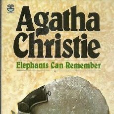 Libros de segunda mano: ELEPHANTS CAN REMEMBER AGATHA CHRISTIE. Lote 157757010