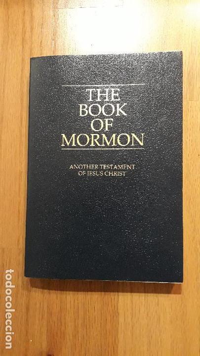 THE BOOK OF MORMON, EL LIBRO DE MORMON, EN INGLES (Libros de Segunda Mano - Otros Idiomas)