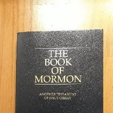 Libros de segunda mano: THE BOOK OF MORMON, EL LIBRO DE MORMON, EN INGLES. Lote 156909994