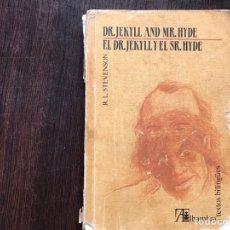 Libros de segunda mano: DOCTOR JEKYLL AND MISTER HYDE. TEXTO BILINGÜE. ALHAMBRA. Lote 158826170