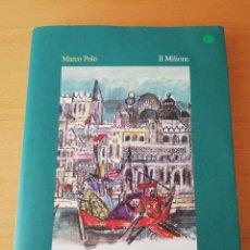 Libros de segunda mano: IL MILIONE (MARCO POLO) ILLUSTRAZIONI DI EMANUELE LUZZATI. Lote 158833830