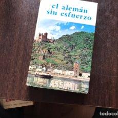 Libros de segunda mano: EL ALEMÁN SIN ESFUERZO. ASSIMIL. Lote 158837718