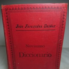 Libros de segunda mano: NOVISSIMO DICCIONARIO PORTUGUÉS -INGLÉS / PORTUGUEZ - INGLEZ. Lote 159808668