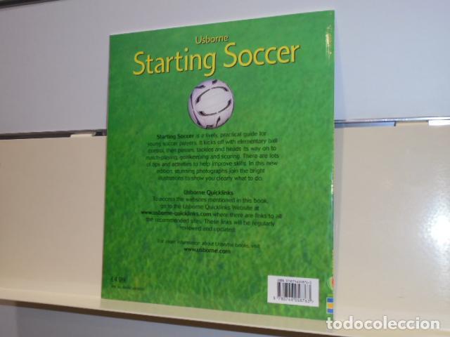Libros de segunda mano: STARTING SOCCER USBORNE - EN INGLES - Foto 2 - 160501434
