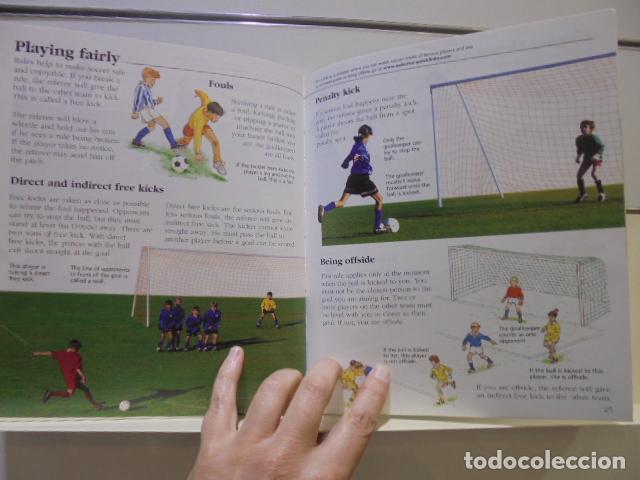 Libros de segunda mano: STARTING SOCCER USBORNE - EN INGLES - Foto 3 - 160501434