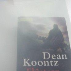 Libros de segunda mano: G-22YO7 LIBRO EN ALEMAN DEAN KOONTZ FLUSTERN IN DER NACHT ROMAN . Lote 160809994
