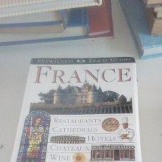 Libros de segunda mano: G-22YO7 LIBRO EN INGLES FRANCE EYEWITNESS TRAVEL GUIDES . Lote 160810622