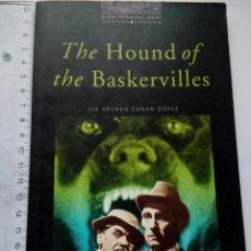 Libros de segunda mano: THE HOUND OF THE BASKERVILLES SIR ARTHUR CONAN DOYLE OXFORD UNIVERSITY PRESS 2002. Lote 161274390