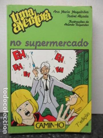 UMA AVENTURA NO SUPERMERCADO DE ANA MARIA/ALÇADA, ISABEL MAGALHAES (EN PORTUGUES) (Libros de Segunda Mano - Otros Idiomas)