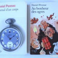 Livres d'occasion: DANIEL PENNAC - JOURNAL D'UN CORPS - AU BONHEUR DES OGRES. Lote 161721426