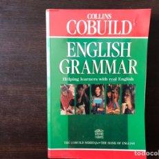 Libros de segunda mano: ENGLISH GRAMMAR. COLLINS COBUILD. SUBRAYADOS LÁPIZ. Lote 162708717