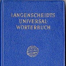 Libros de segunda mano: LANGENSCHEIDT UNIVERSAL WÖRTERBUCH FINNISCH-DEUTSCH / DEUTSCH-FINNISCH. Lote 163629010
