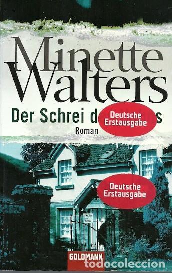 DER SCHREI DES HAHNS MINETTE WALTERS ROMAN (Libros de Segunda Mano - Otros Idiomas)