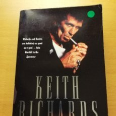 Libros de segunda mano: KEITH RICHARDS. THE BIOGRAPHY (VICTOR BOCKRIS). Lote 165132114
