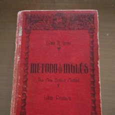 Libros de segunda mano: MÉTODO DE INGLÉS. LEWIS TH GIRAU 47 EDICIÓN 1970. Lote 165216538