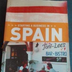 Libros de segunda mano - Starting a business in Spain - 167922788