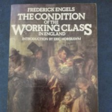 Libros de segunda mano: ON THE WORKING CLASS IN ENGLAND FREDERICK ENGELS. Lote 167953020