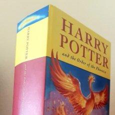 Libros de segunda mano: HARRY POTTER AND THE ORDER OF THE PHOENIX. IDIOMA: ENGLISH. FIRST EDICIÓN 2003. PERFECTO ESTADO. Lote 168000546