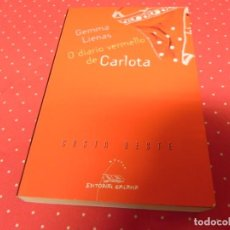 Libros de segunda mano: O DIARIO VERMELLO DE CARLOTA - LIENAS, GEMMA - COSTA OESTE . Lote 168000832