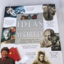 Libros de segunda mano: IDEAS THAT SHAPED OUR WORLD 1997. ROBERT STEWART. 29X24 CM. Lote 168723921