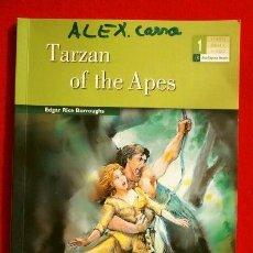 Libros de segunda mano: TARZAN OF THE APES (2009) EDGAR RICE - BURLINGTON BOOKS (LECTURA INGLES 1º ESO) BOOK IN ENGLISH. Lote 168756048