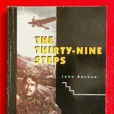 Libros de segunda mano: THE THIRTY-NINE STEPS (1998) JOHN BUCHAN - OXFORD BOOKWORMS - INGLES- BOOK IN ENGLISH. Lote 168756180