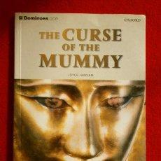 Libros de segunda mano: THE CURSE OF THE MUMMY (2005) (CON CD) JOYCE HANNAM - OXFORD UNIVERSITY - BOOK IN ENGLISH- LA MOMIA. Lote 168756280