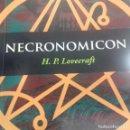 Libros de segunda mano: NECRONOMICON H.P. LOVECRAFT . Lote 169346492