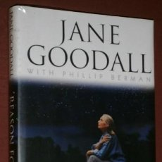 Libri di seconda mano: REASON FOR HOPE: A SPIRITUAL JOURNEY POR JANE GOODALL DE ED. WARNER BOOKS EN NEW YORK 1999. Lote 170142636