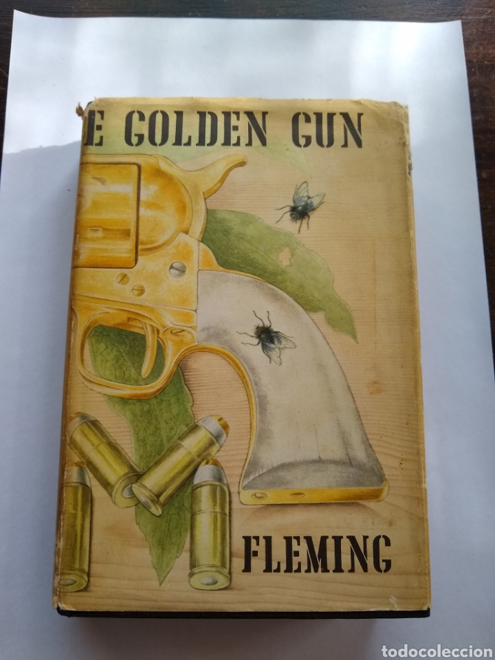 JAMES BOND, IAN FLEMING, THE GOLDEN GUN,1RA EDICION1965, IDIOMA INGLES; JONATHAN CAPE, LONDON (Libros de Segunda Mano - Otros Idiomas)
