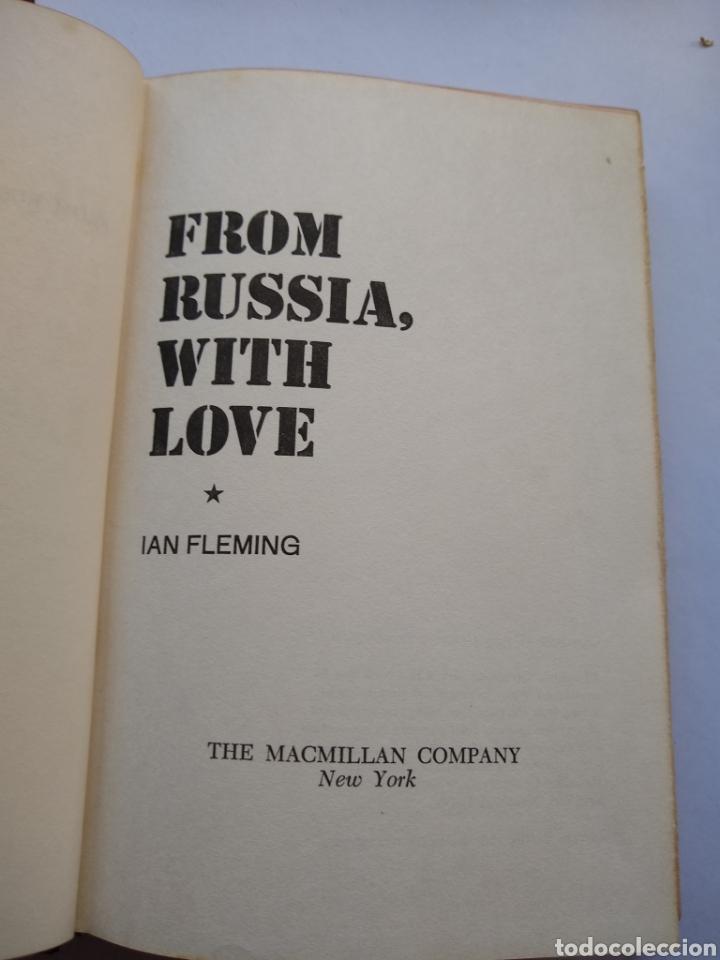 Libros de segunda mano: James Bond Ian Fleming, from Russia with love , 1957, 1ra impresion 1ra edicion editorial MACMILLAN - Foto 3 - 170293688