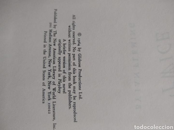 Libros de segunda mano: You only live twice , James Bond , new american library , 1 edc 1964 - Foto 3 - 170954044