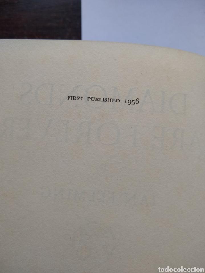 Libros de segunda mano: Diamonds are forever , j Bond 1 ra, 1956 jonathan cape 1ra impresion con sobrecubierta incluida - Foto 3 - 170954457